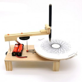 Robot Gambar DIY Plotter Drawing Toy Kit