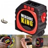 Meteran - Measure King Meteran Digital 3 in 1 Roller Cord Sonic Mode 20M - M001 - Black