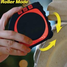 Measure King Meteran Digital 3 in 1 Roller Cord Sonic Mode 20M - M001 - Black - 3