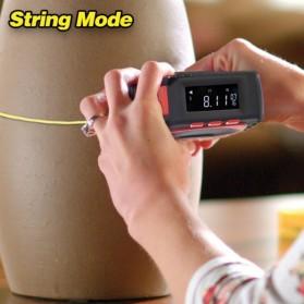 Measure King Meteran Digital 3 in 1 Roller Cord Sonic Mode 20M - M001 - Black - 5