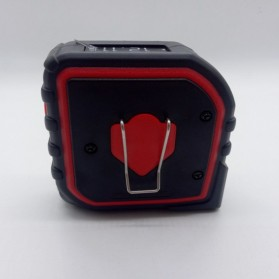 Measure King Meteran Digital 3 in 1 Roller Cord Sonic Mode 20M - M001 - Black - 8