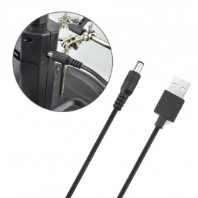 YUPEI Alat Pegangan Solder Helping Hand dan Kaca Pembesar 16SMD LED - TE-802 - Black - 7