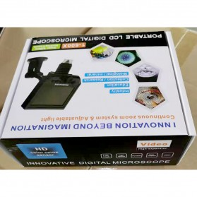 Andonstar Mikroskop Digital 3.6MP 600X dengan Monitor & Suction Cup Stand - G600 - Black - 8