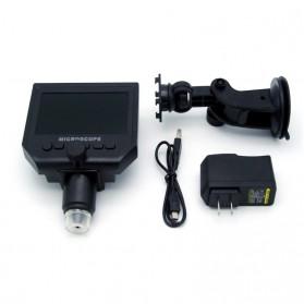 Andonstar Mikroskop Digital 3.6MP 600X dengan Monitor & Suction Cup Stand - G600 - Black - 7