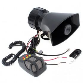 Saiyin Toa Megaphone Horn dengan 5 Tone Sirene Loud Speaker - HW-1006 - Black