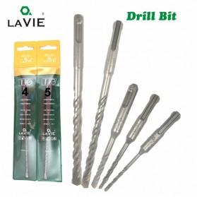 LAVIE Mata Bor Concrete Drill 40Cr Steel SDS Plus 150mm 8mm 1 PCS - DB01004 - Silver