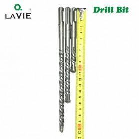 LAVIE Mata Bor Concrete Drill 40Cr Steel SDS Plus 150mm 10mm 1 PCS - DB01004 - Silver - 3