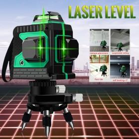 VAHIGCY Self Leveling 3D Wall Meter Laser Beam 12 Line - Red - 4