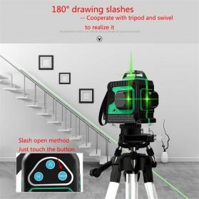 VAHIGCY Self Leveling 3D Wall Meter Laser Beam 12 Line - Red - 8