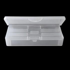 Olahraga Memancing - ART LALIC Kotak Nail Art Tool Storage Box Container - GSP271 - Transparent