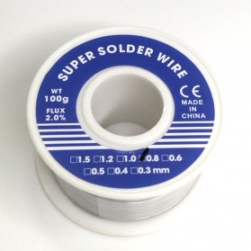 JICLASS Kawat Timah Solder 0.8mm 100gr - SWH010