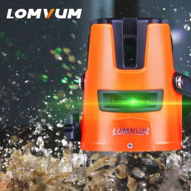 LOMVUM Self Leveling Laser 2 Line 2 Points - LL5 - Orange - 2