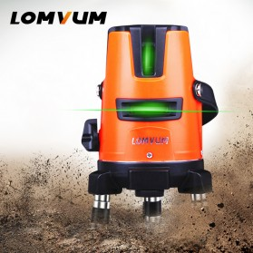 LOMVUM Self Leveling Laser 2 Line 2 Points - LL5 - Orange - 3