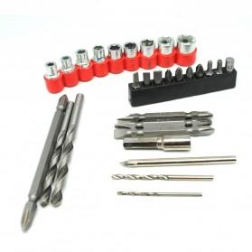 LOMVUM Bor Obeng Listrik Lithium Battery Rechargeable 12V - LY168V - Green - 3