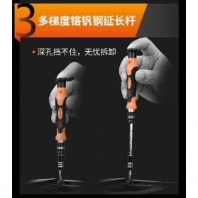 LOMVUM Obeng Set Reparasi 45 in 1 - Black/Orange - 4