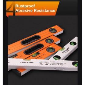 Lomvum Waterpass Spirit Level Bubble Magnetic Ruler 600mm - WX-98 - Orange - 5