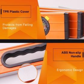Lomvum Spirit Level Bubble Magnetic 600mm - WX-98 - Orange - 6