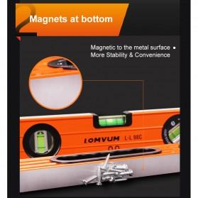 Lomvum Spirit Level Bubble Magnetic 300mm - WX-2005C - Silver - 5
