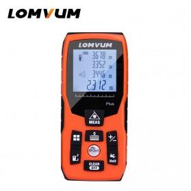 Lomvum Pengukur Jarak Digital Range Finder Laser 40M - LV-Plus - Orange - 2