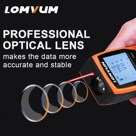 Lomvum Pengukur Jarak Digital Range Finder Laser 40M - LV-Plus - Orange - 4