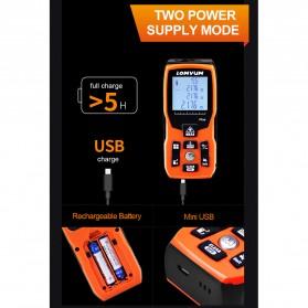 Lomvum Pengukur Jarak Digital Range Finder Laser 40M - LV-Plus - Orange - 6