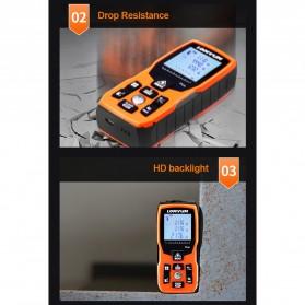 Lomvum Pengukur Jarak Digital Range Finder Laser 40M - LV-Plus - Orange - 9