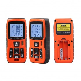 Lomvum Pengukur Jarak Digital Range Finder Laser 60M - LV-60 - Orange - 7