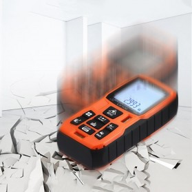 Lomvum Pengukur Jarak Digital Range Finder Laser 60M - LV-60 - Orange - 9