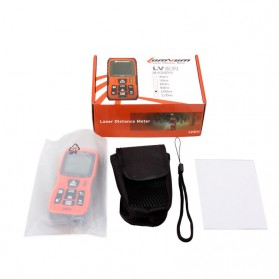 Lomvum Pengukur Jarak Digital Range Finder Laser 60M - LV-60 - Orange - 10
