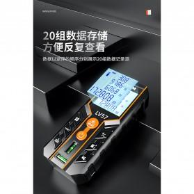 Lomvum Pengukur Jarak Digital Range Finder Laser 120M - LV-120 - Orange - 2