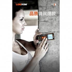 Lomvum Pengukur Jarak Digital Range Finder Laser 120M - LV-120 - Orange - 4