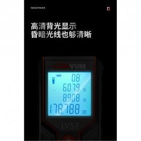Lomvum Pengukur Jarak Digital Range Finder Laser 120M - LV-120 - Orange - 8