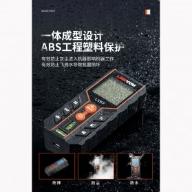 Lomvum Pengukur Jarak Laser Distance Meter 120M - LV57 - Black - 3
