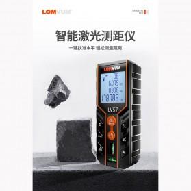 Lomvum Pengukur Jarak Laser Distance Meter 120M - LV57 - Black - 6