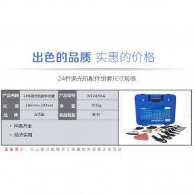 WORKPRO Set Mata Bit Gerinda Polishing Machine 24 in 1 - W124004A - 6