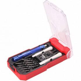 WORKPRO Alat Set Perkakas Obeng Set Opening Tool Sim Card Pin 15 in 1 - W021184 - 3
