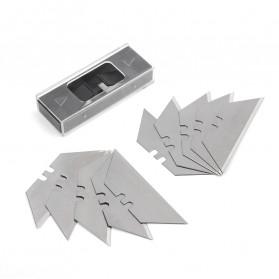 WORKPRO Pisau Lipat Cutter EDC Wood Handle with 10 PCS Blade - W011021AE - 5