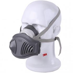3M Masker Gas Respirator dengan 2 Filter 1701 - 1221 - Gray
