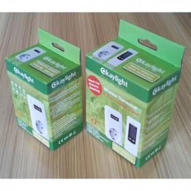 Okaylight Stop Kontak Wireless Thermostat Temperatur - OPS100+OTS001 - White - 2