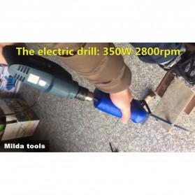 Milda Gergaji Listrik Mini Chainsaw Attachment 2000RPM - Blue - 3