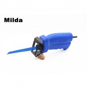Milda Gergaji Listrik Mini Chainsaw Attachment 2000RPM - Blue - 4