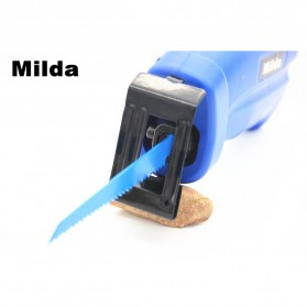 Milda Gergaji Listrik Mini Chainsaw Attachment 2000RPM - Blue - 6