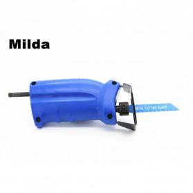 Milda Gergaji Listrik Mini Chainsaw Attachment 2000RPM - Blue - 10