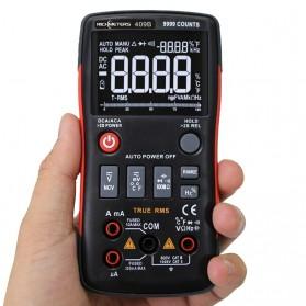 RICHMETERS Pocket Size Digital Multimeter True-RMS AC/DC Voltage Tester - RM409B - Black - 2