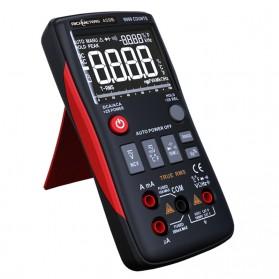 RICHMETERS Pocket Size Digital Multimeter True-RMS AC/DC Voltage Tester - RM409B - Black - 3