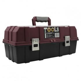CREST Tool Box Kotak Perkakas 17 Inch - Brown