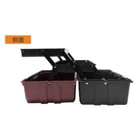 CREST Tool Box Kotak Perkakas 17 Inch - Brown - 2