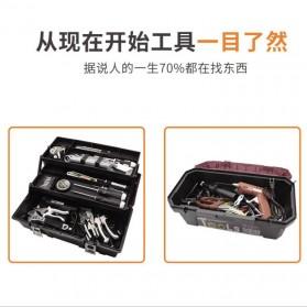 CREST Tool Box Kotak Perkakas 17 Inch - Brown - 7