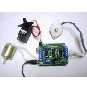 Arduino L293D Driver Motor Shield - Blue - 2