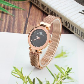 Demton SidPega Jam Tangan Analog Wanita Luxury Starry Sky - LJS057 - Rose Gold - 3